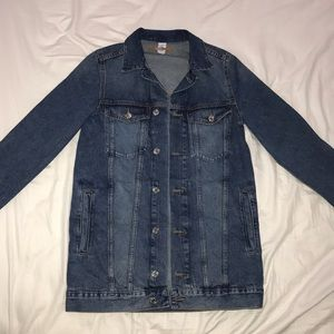 H&M Long Denim Jacket